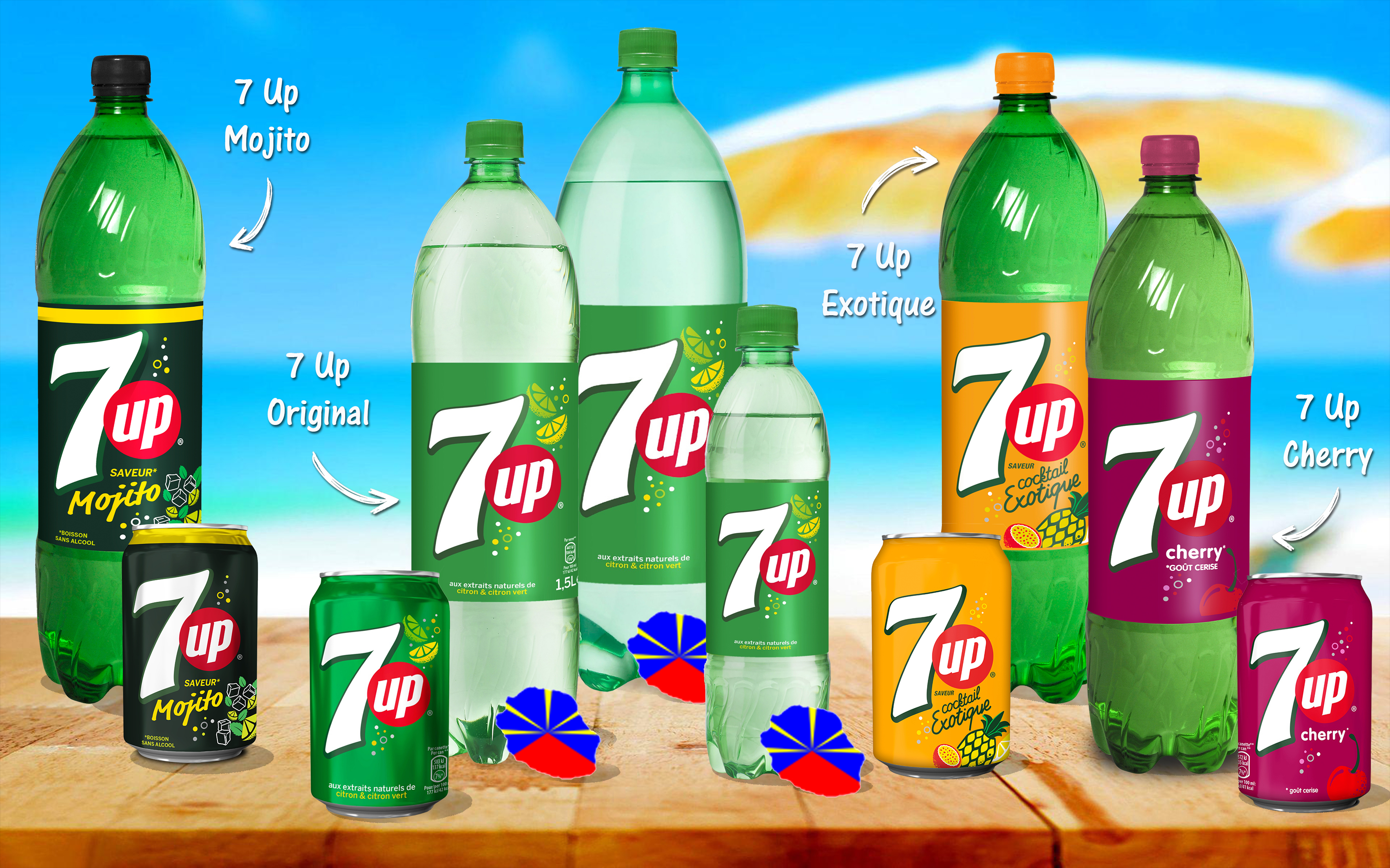 gamme 7up Reunion